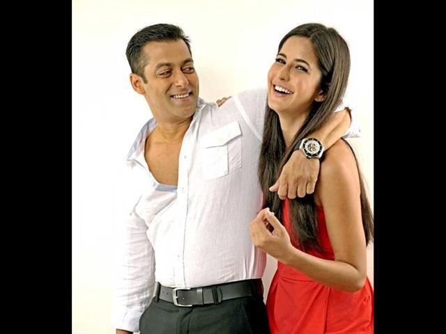 Salman, Katrina bond on Ek Tha Tiger sets