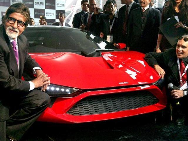 Katrina Kaif,auto expo,BMW