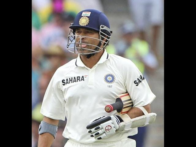 Sachin-Tendulkar-sticks-his-tongue-out-after-he-was-caught-on-the-fourth-day-of-the-second-Test-match-against-Australia-in-Sydney-Australia-AP-Photo