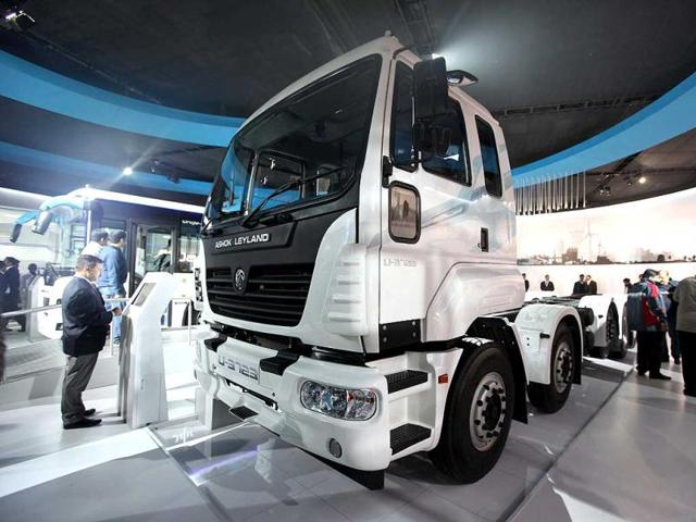 Ashok-Leyland-U-truck-during-the-showcasing-for-press-preview-11th-Auto-Expo-2012-at-Pragati-Maiden-in-New-Delhi-HT-Photo-by-Rajkraj