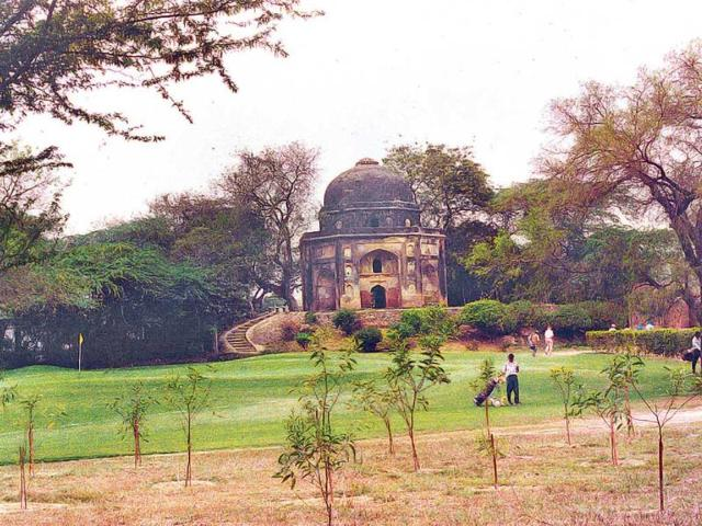 One-of-the-many-Lodi-mausoleums-that-dot-the-Delhi-Golf-Club-course--file-photo
