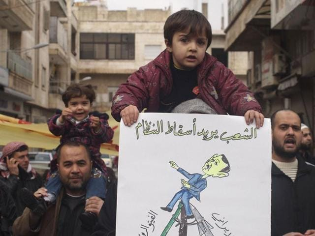 Activists: Syria conflict death toll hits 150,344