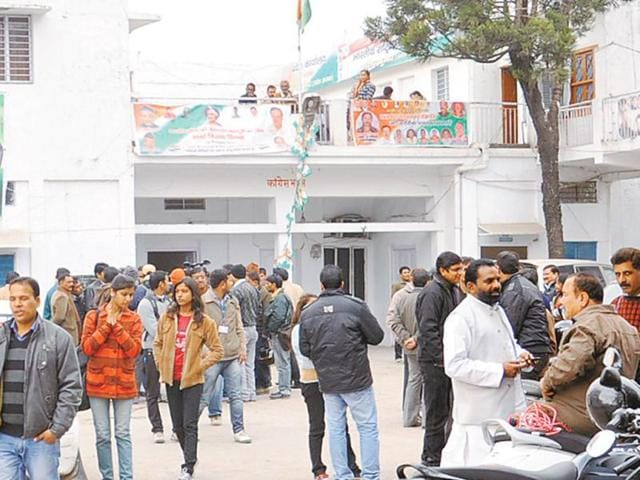 Congress-office-in-the-state-capital-abuzz-with-activity-HT-photo