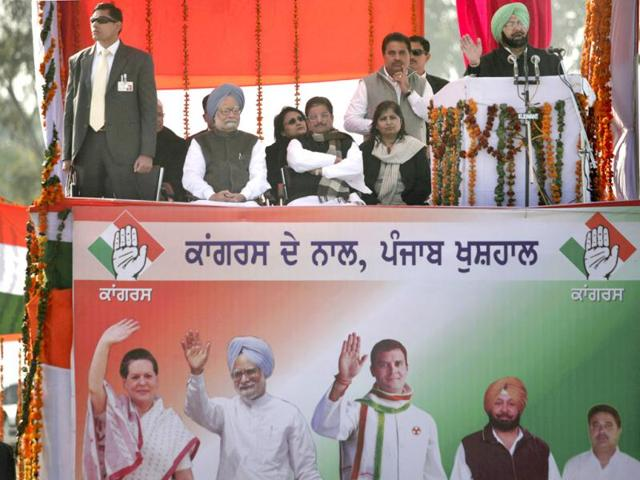 PPCC president,Capt Amarinder Singh,BJP-SAD government