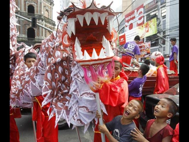 Dragon,Chinese new year,predictions
