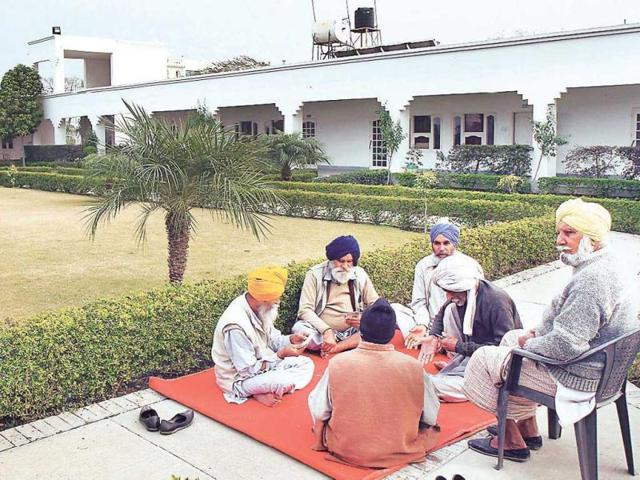 old-age home,villagers,Badal
