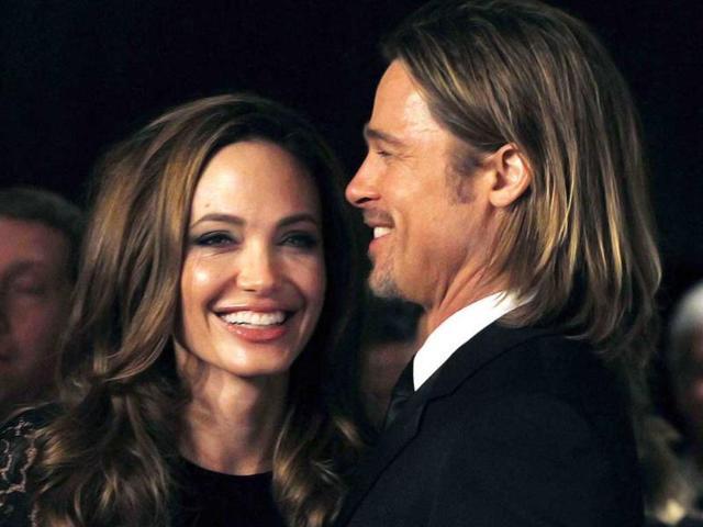 Brad Pitt,Angelina Jolie,kids