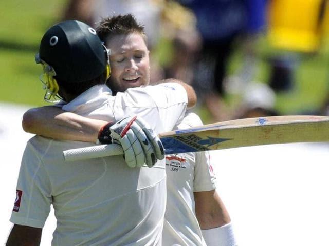 Michael Clarke,Ricky Ponting,Adelaide Test