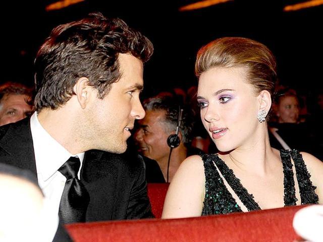 Scarlett Johansson,Ryan Reynolds,Marie Claire