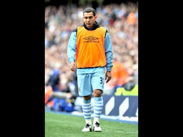 Manchester City,Carlos Tevez,Roberto Mancini