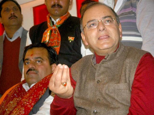 Arun Jaitley,Lok Sabha elections,Navjot Sidhu