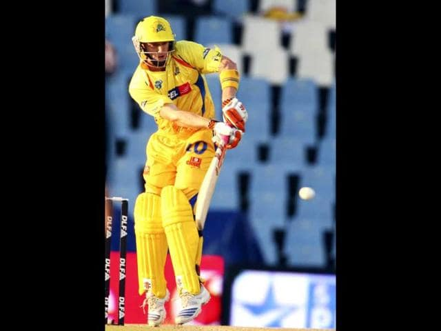 George-Bailey-of-the-Chennai-Super-Kings-plays-a-shot-during-the-2009-Indian-Premier-League-IPL-T20-cricket-match-against-the-Kolkata-Knight-Riders-in-Centurion-Reuters