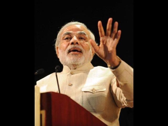 File-photo-of-Gujarat-chief-minister-Narendra-Modi-at-the-10th-Pravasi-Bharatiya-Divas-2012-in-Jaipur-AFP-Photo-Raveendran
