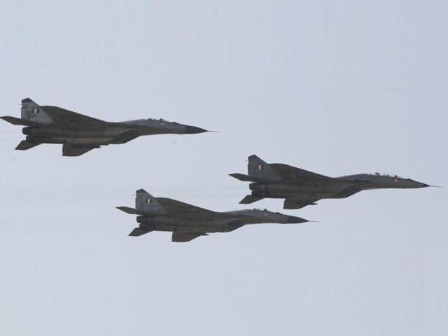 MiG-29 fighter aircraft