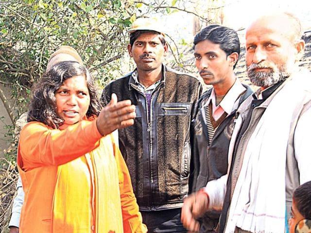 Savitri-Bai-Phule-campaigns-in-her-constituency-HT-Photo