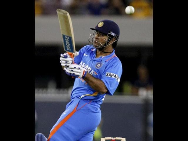Mahendra-Singh-Dhoni-plays-a-shot-during-their-T20-International-series-cricket-match-against-Australia-at-the-Melbourne-Cricket-Ground--in-Melbourne-Reuters-Brandon-Malone