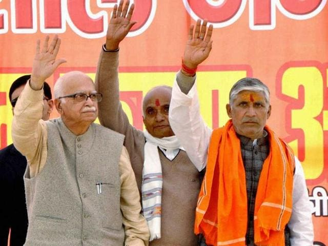 Senior-BJP-leader-LK-Advani-waves-to-the-crowd-during-an-election-rally-in-support-of-party-candidates-in-Faizabad-PTI-Photo