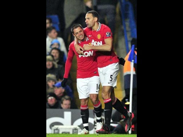 Javier Hernandez's,Manchester United,Chelsea