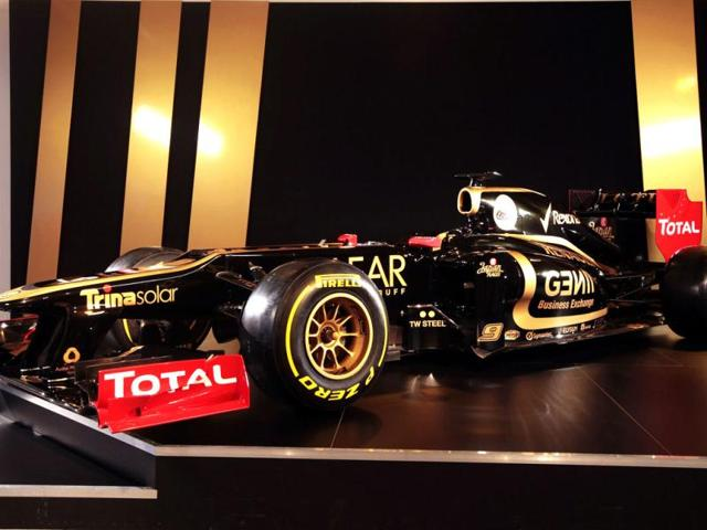 A-picture-released-by-Lotus-F1-team-shows-the-new-E20-car-which-will-be-used-for-the-2012-Formula-One-season-Lotus-will-test-its-new-car-in-Jerez-with-driver-Finland-s-Kimi-Raikkonen-and-France-s-Romain-Grosjean-AFP-Photo