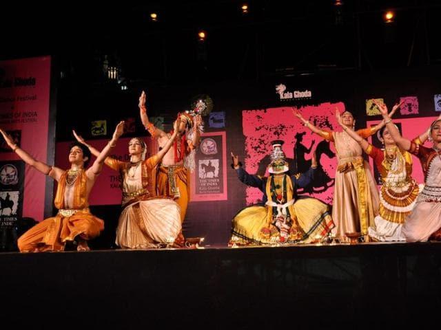 Kala Ghoda Arts Festival,Bharata Natyam,Hindustan Times Kala Ghoda Arts Festival