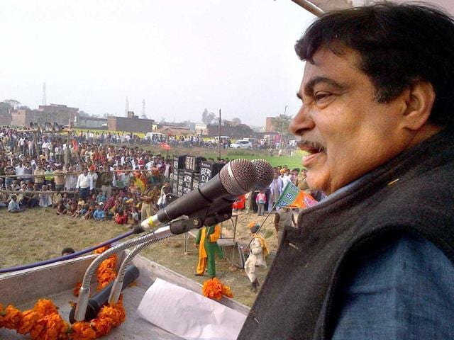 assemblyelections2012,BJP,Nitin Gadkari