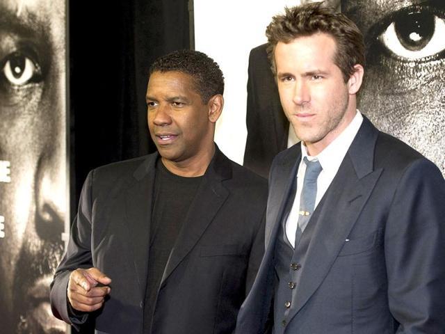 Denzel Washington,Ryan Reynolds,entertainment