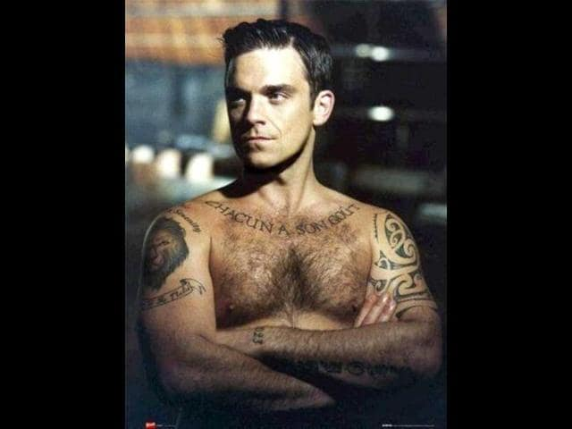hindustan times,Robbie Williams,Ayda Field