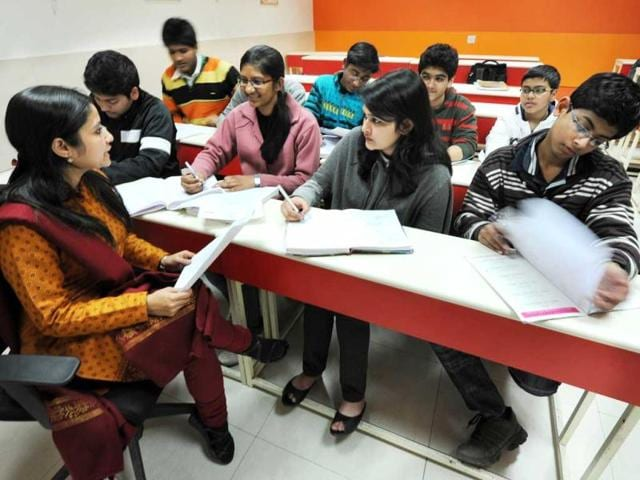 An-early-start-At-this-study-centre-in-south-Delhi-s-Lajpat-Nagar-class-X-students-take-tuitions-for-various-science-subjects--Raj-K-Raj-HT-photo