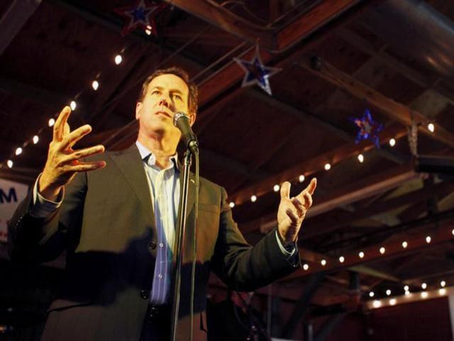 HT columns,US presidential elections 2012,Rick Santorium