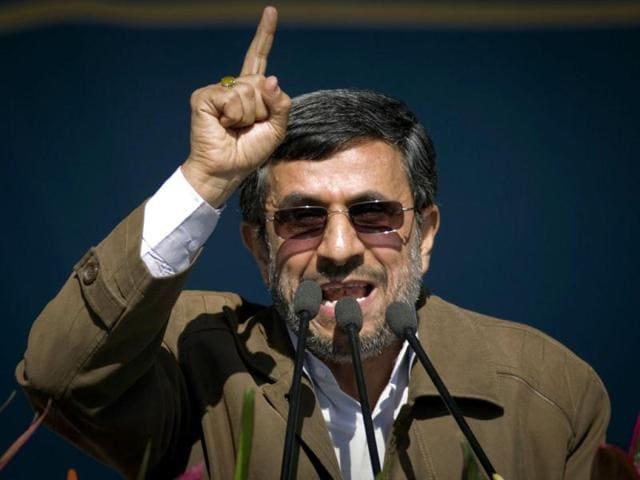 Mahmoud Ahmadinejad,Big Powers,Rajiv Arora