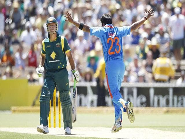 Vinay-Kumar-celebrates-taking-the-wicket-of-Australia-s-Ricky-Ponting-in-Adelaide-on-Sunday-Reuters