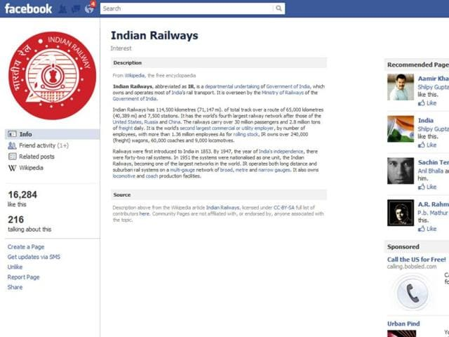 Facebook-page-of-Indian-Railways