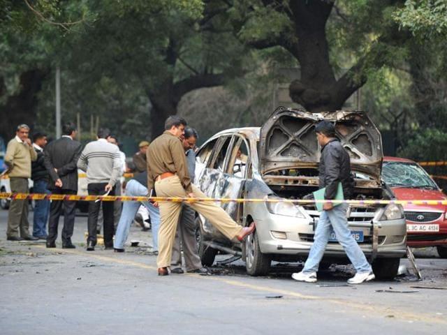 Israeli car blast,hindustan times,news