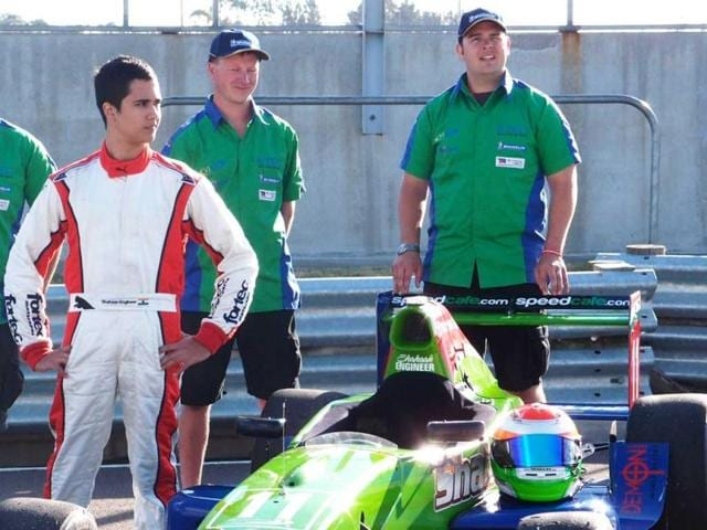 Sixteen-year-old-Shahaan-Engineer-left-has-just-21-motor-races-under-his-belt-HT-photo
