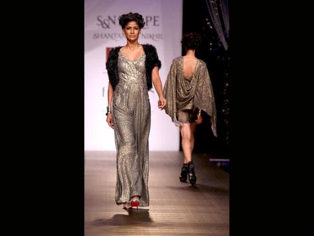 Wills Lifestyle India Fashion Week (WIFW) Spring Summer 2014,denims,'Niket and Jainee'