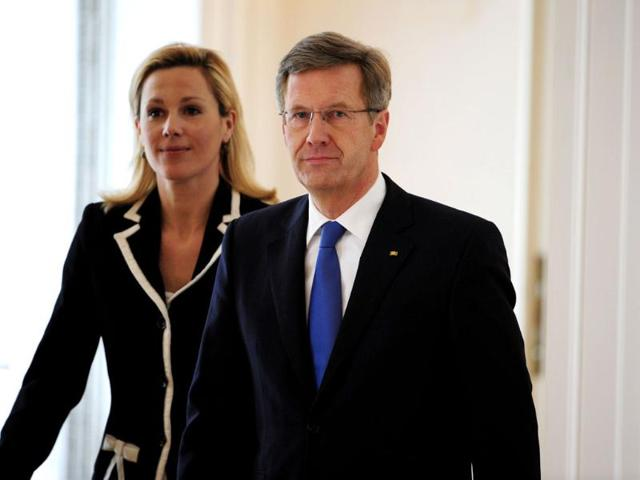 Germany-s-president-Christian-Wulff-and-his-wife-Bettina-Wulff-arrive-for-a-statement-given-by-him-to-annouce-he-resigns-at-the-Bellevue-Presidential-Palace-in-Berlin-after-prosecutors-demanded-his-immunity-to-be-lifted-to-investigate-allegations-he-abused-his-position-AFP-John-Macdougall