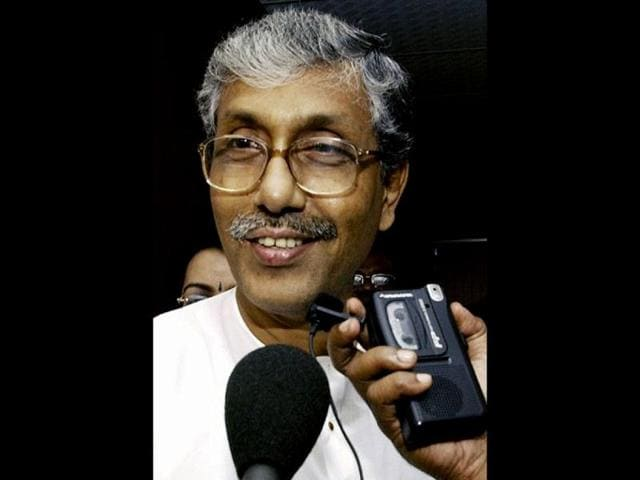 Tripura-chief-minister-Manik-Sarkar-speaking-at-a-press-conference-Indranil-Bhoumik-HT-Photos