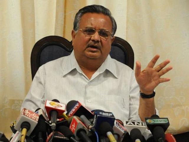 File-photo-of-Chhattisgarh-chief-minister-Raman-Singh