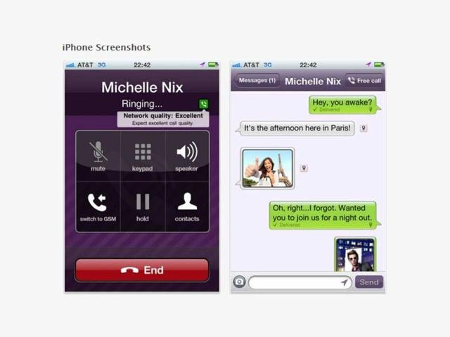 Viber,iPhone,Android