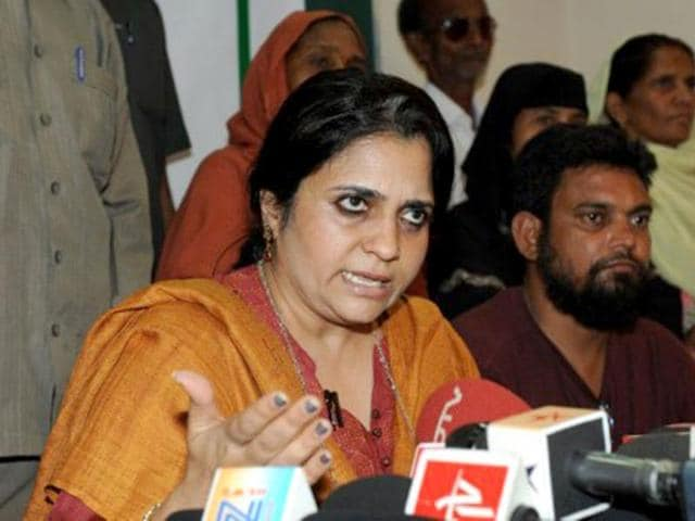 In-this-file-photo-social-activist-Teesta-Setalvad-speaks-to-the-media-during-a-press-conference-in-Ahmedabad-AFP-Photo-Sam-Panthaky