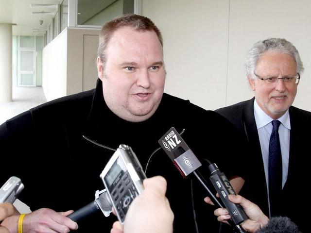 Megaupload-boss-Kim-Dotcom-leaves-court-after-he-was-granted-bail-in-the-North-Shore-court-in-Auckland-AFP-Michael-Bradley