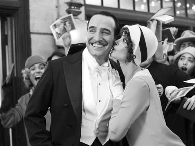 The-Artist-is-about-the-era-of-silent-films-drawing-to-a-close-Two-actors-find-their-careers-and-their-relationship-influenced-by-the-coming-of-talking-pictures-While-popular-screen-star-George-Valentin-resists-the-transition-to-sound-young-Peppy-Miller-embodies-a-modern-age-that-is-leaving-Valentin-behind