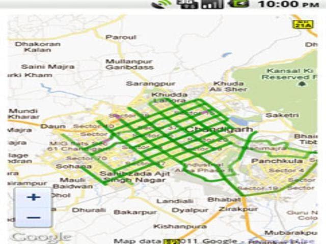 A-screenshot-of-Sabka-Traffic-the-new-mobile-app-androidapp101-com