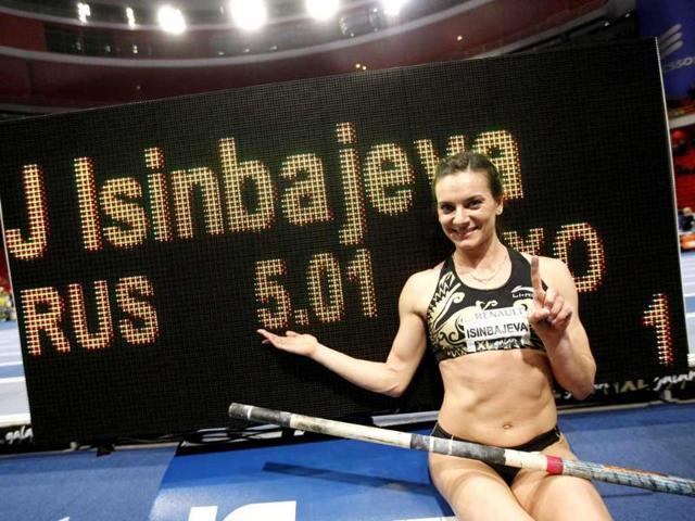 Stockholm,Double Olympic pole vault champion,Yelena Isinbayeva