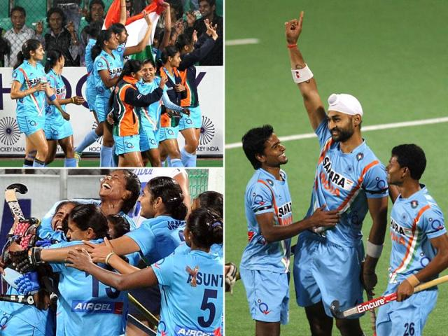 London-Olympic-qualifier-India-s-women-and-men-s-team-celebrate-their-victory-Major-Dhyan-Chand-National-stadium