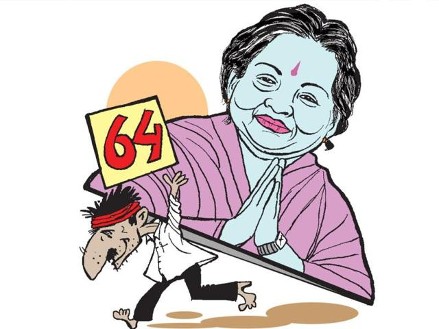 On-her-64th-birthday-Tamil-Nadu-chief-minister-J-Jayalalithaa-asked-her-party-leaders-and-the-cadre-to-show-their-affection-towards-her-through-philanthropic-acts-HT-Abhimanyu