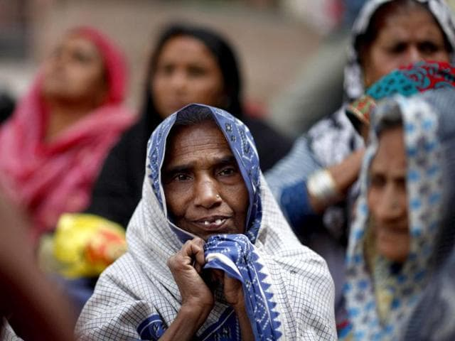 A-victim-of-the-1984-Bhopal-gas-tragedy-looks-on-during-a-protest-in-New-Delhi-Saurabh-Das-AP-file-photo