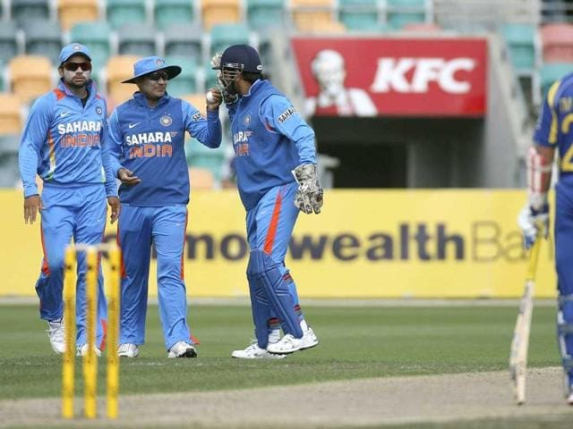 Was Sehwag rested or dropped?