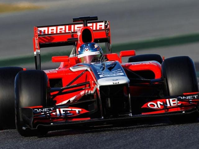 Charles-Pic-tests-the-2011-Marussia-car-at-the-Circuit-de-Catalunya-Getty-Images