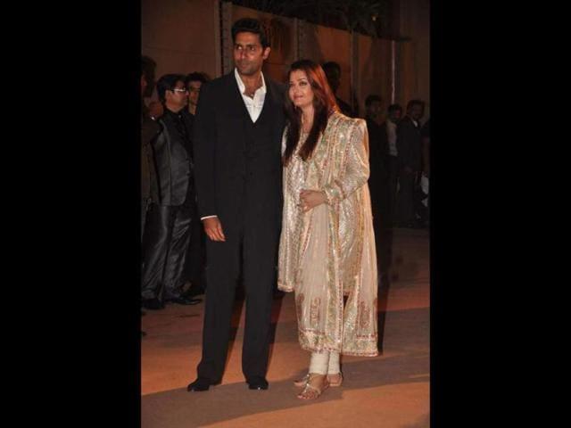 Bollywood-s-first-couple-Abhishek-Bachchan-and-Aishwarya-Rai-Bachchan-at-a-reception